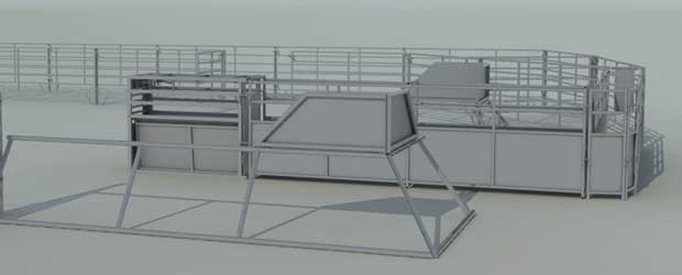 Roping Arena Layouts Rodeo Equipment Red River Arenas