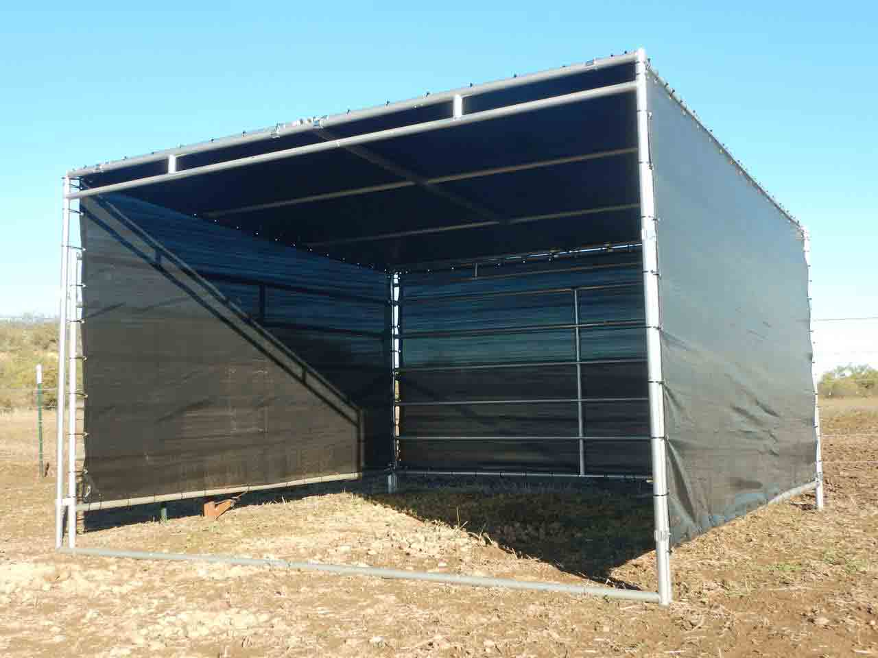 Covers And Shelters : Modular horse stalls portable red river