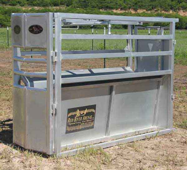 RC100 Combination Steer and Calf Roping Chute 02